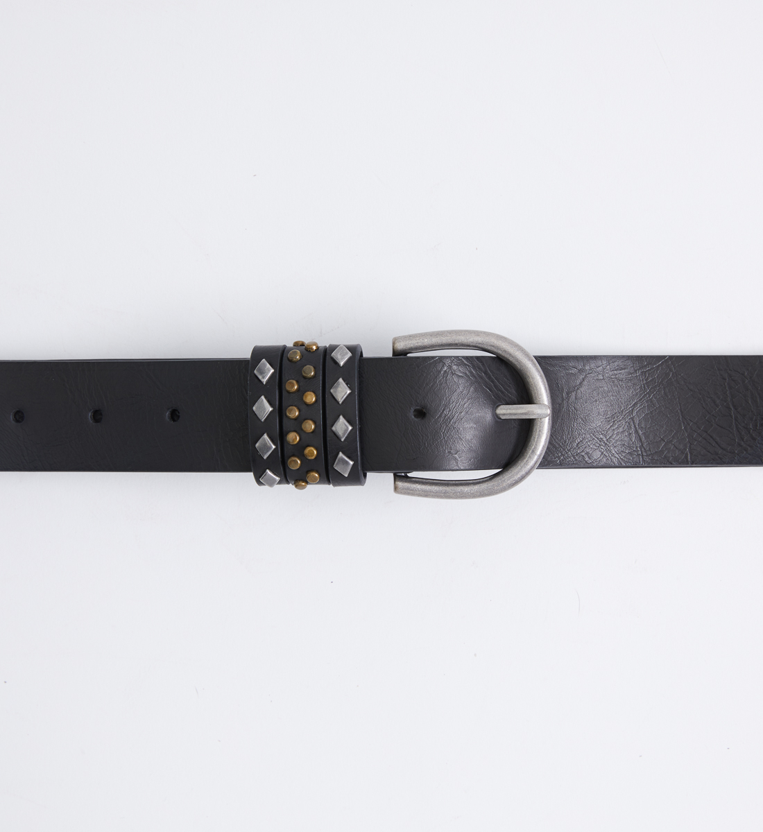 Studded Womens Belt Side