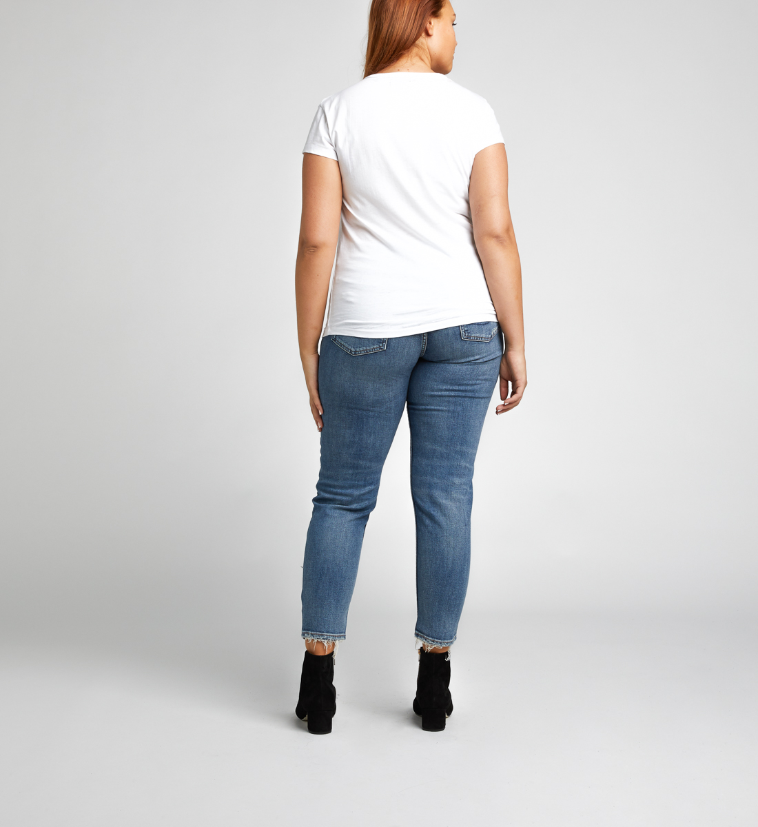 Alexis Roar & Roll Shredded Tee, White, hi-res
