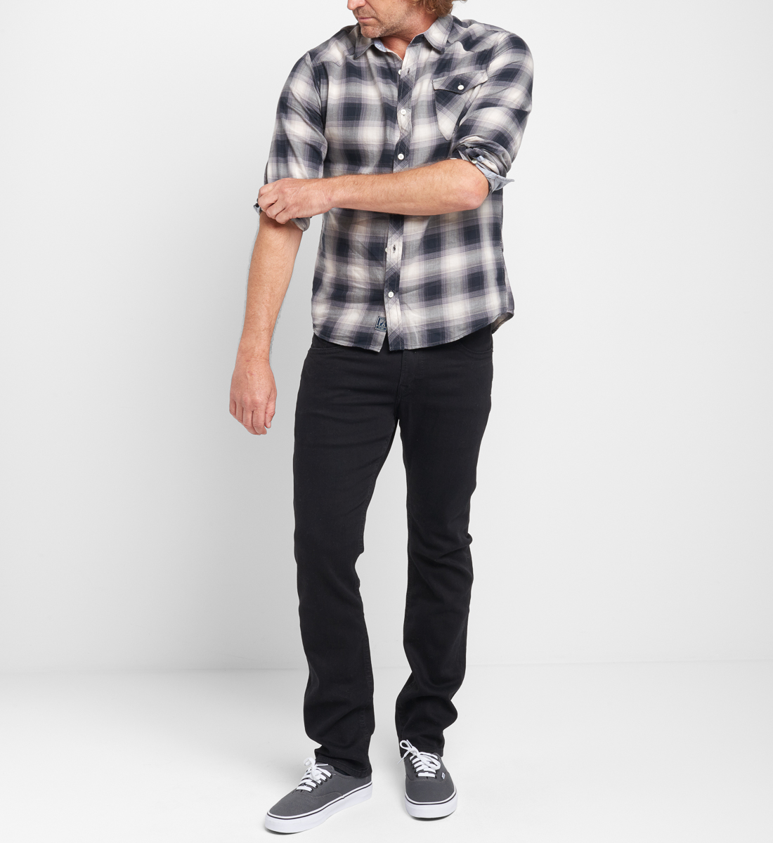 Bennet Plaid Button-Down Shirt Side