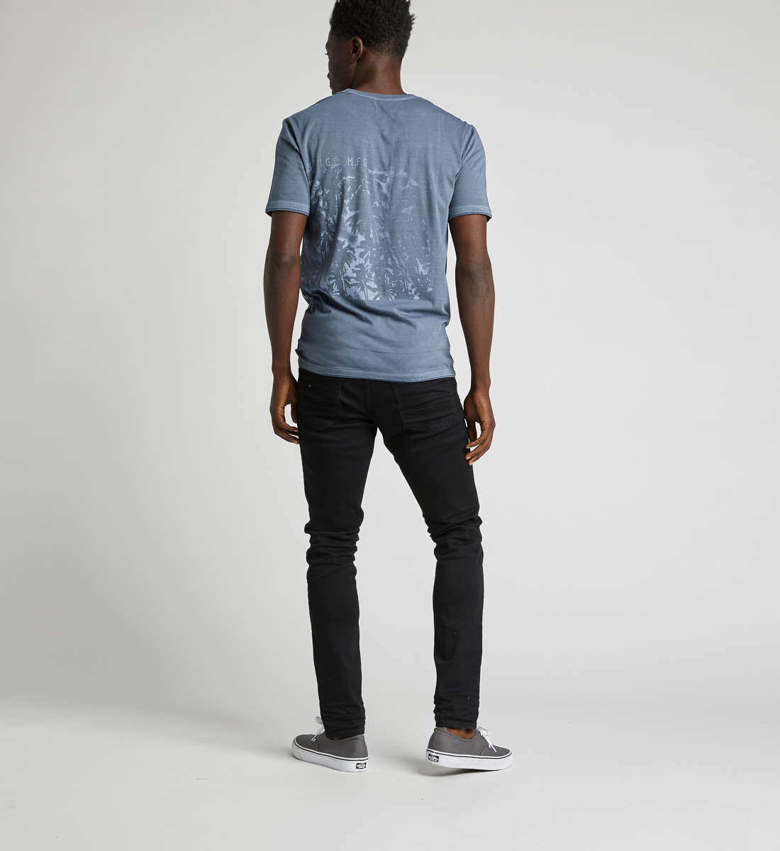 Dacoma Graphic Tee,Blue Side