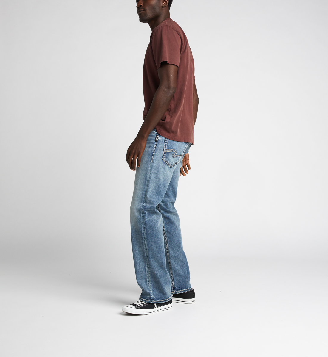 Zac Relaxed Fit Straight Jeans, Indigo, hi-res
