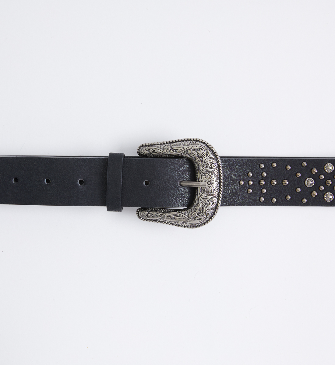 Western Studded Womens Belt Alt Image 1
