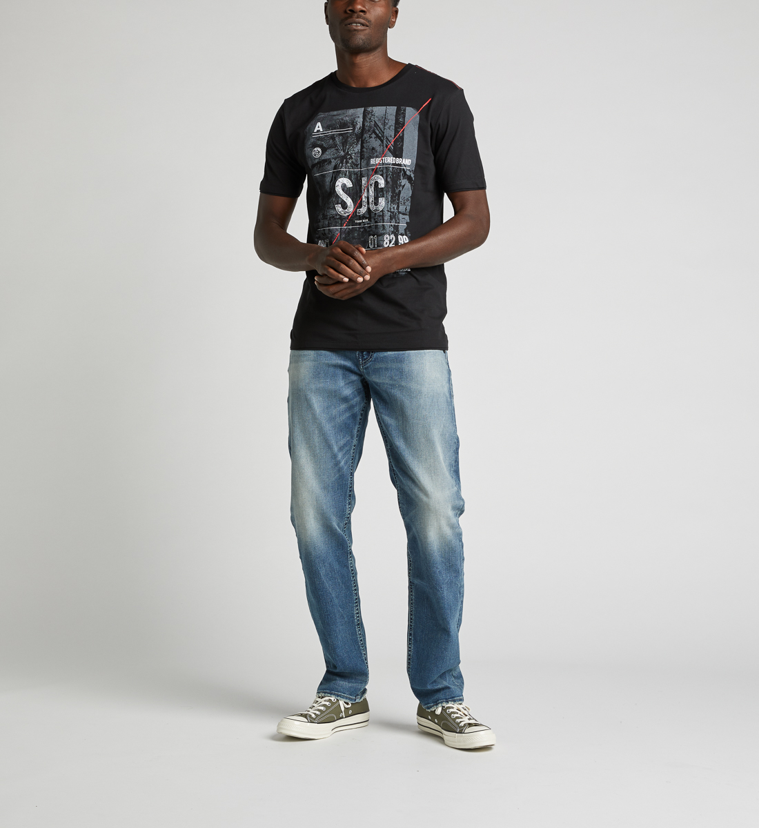 Dalby Graphic Tee, Black, hi-res