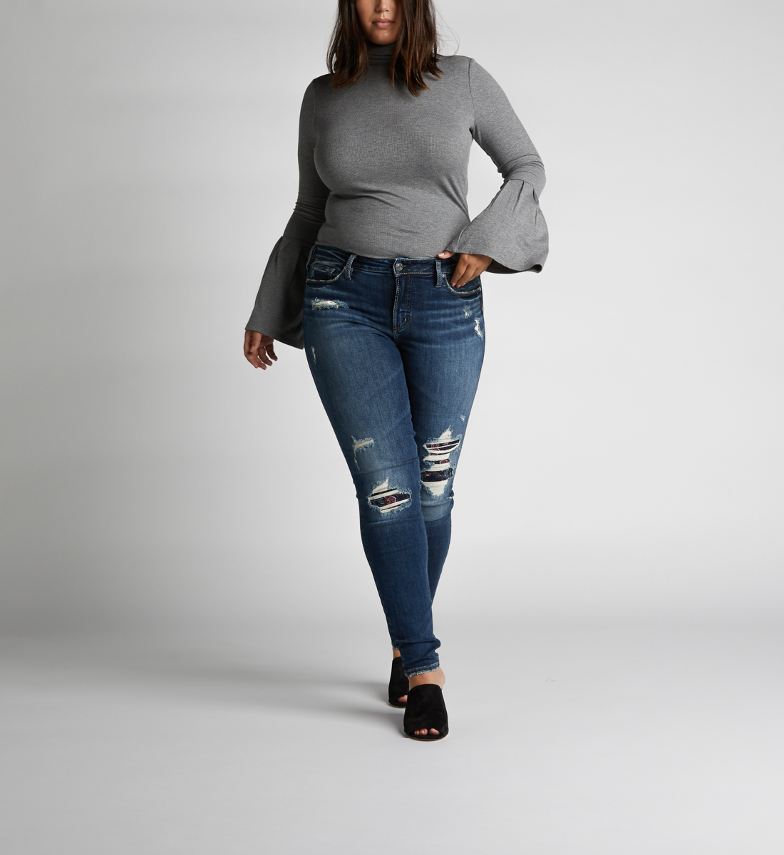 eaaabf6a756 Avery High Rise Skinny Leg Jeans Plus Size