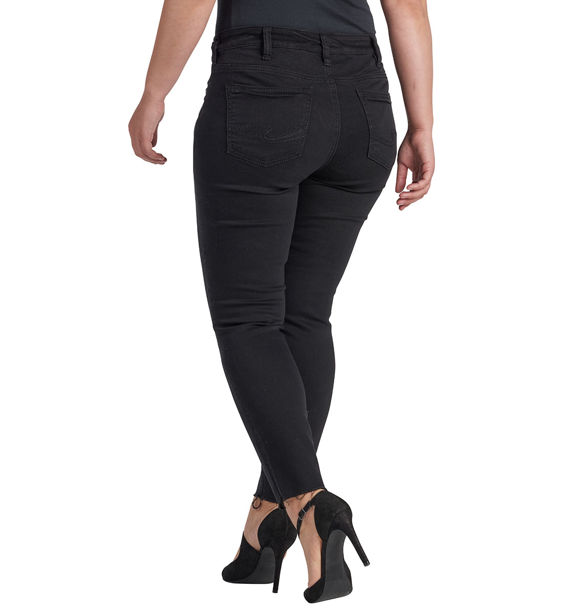Mazy Ankle Skinny Black Side