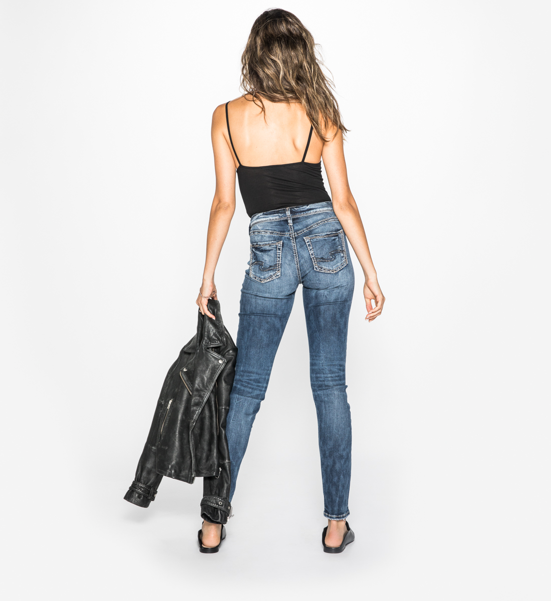 Avery High-Rise Skinny Jeans, , hi-res