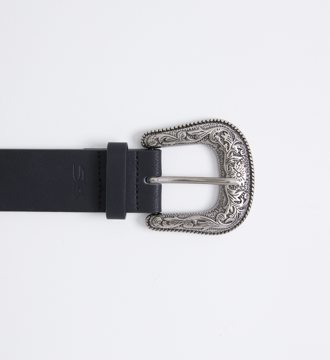 Western Studded Womens Belt Front