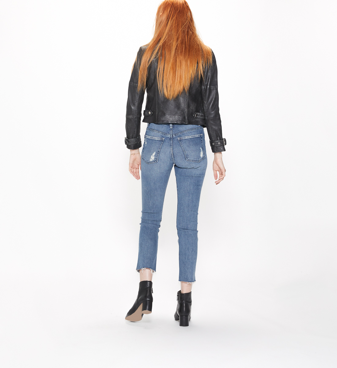 Frisco High Rise Straight Leg Jeans, , hi-res