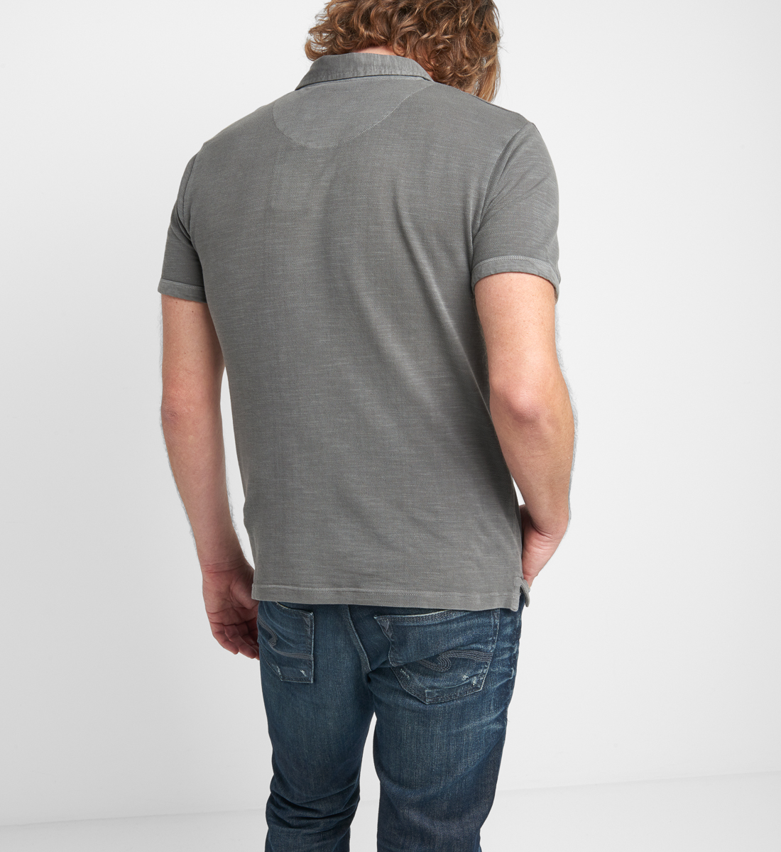 Brent Short-Sleeve Polo Side