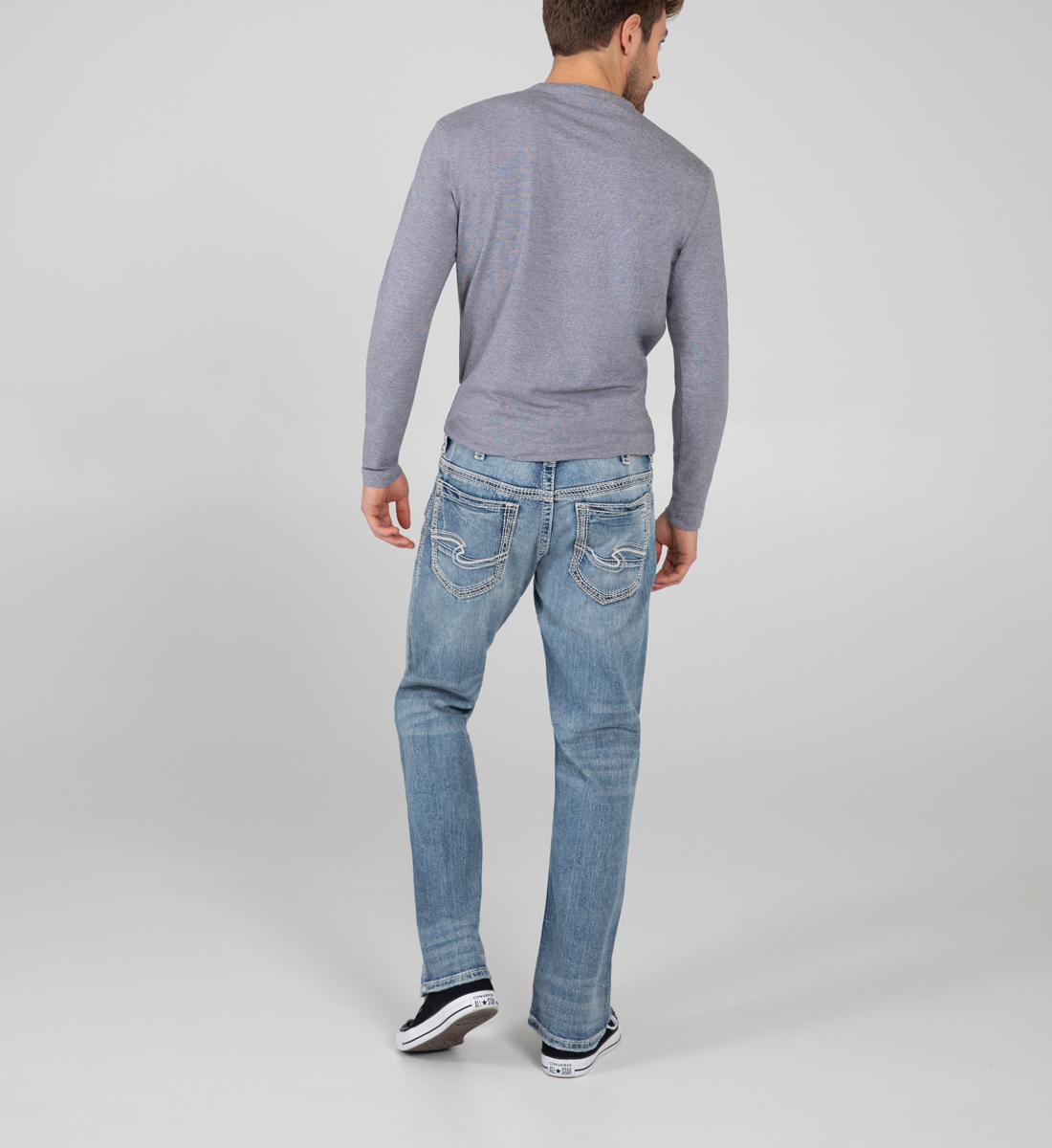Gordie Loose Fit Straight Leg Jeans Back