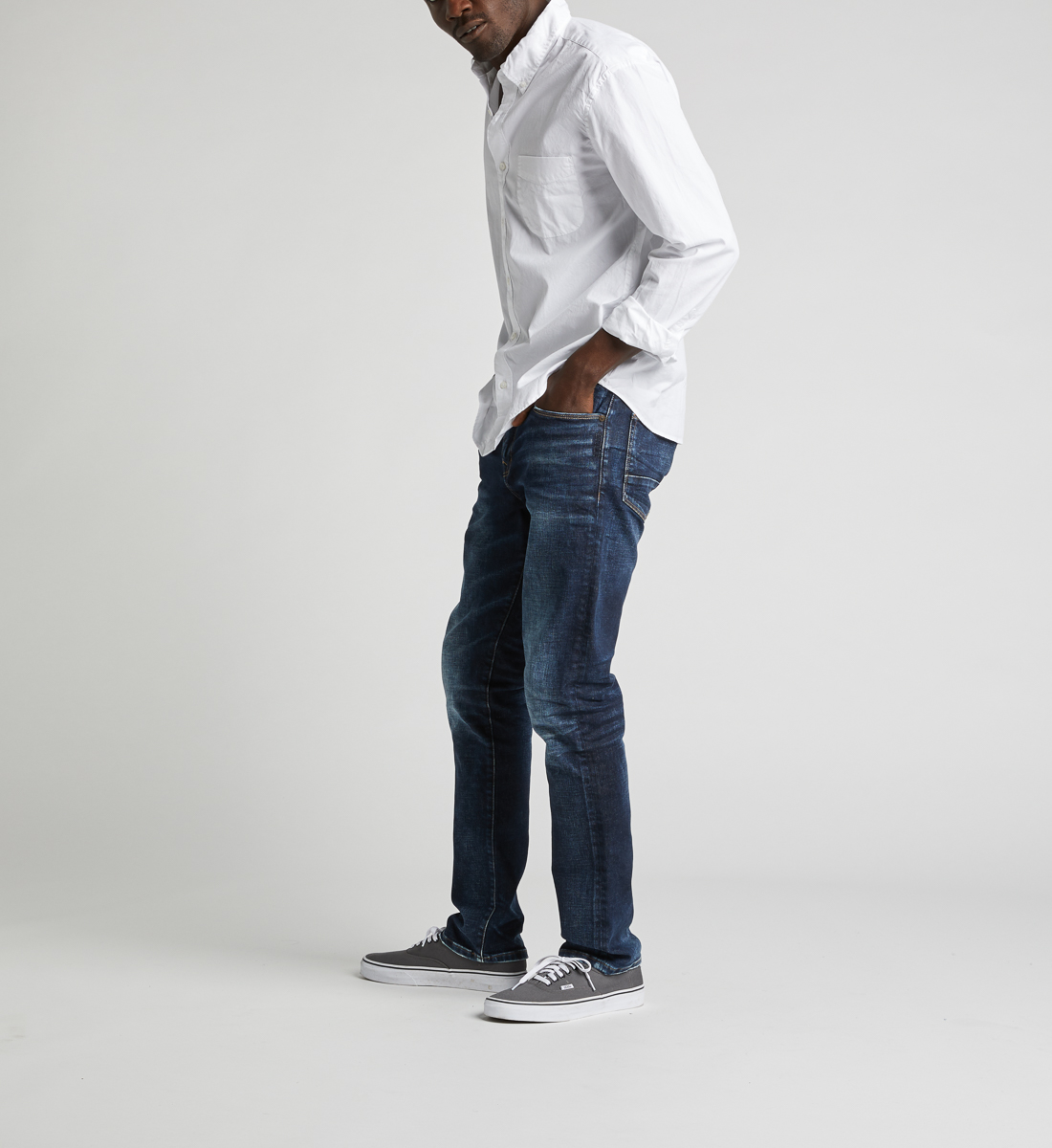 Machray Classic Straight Jeans Side