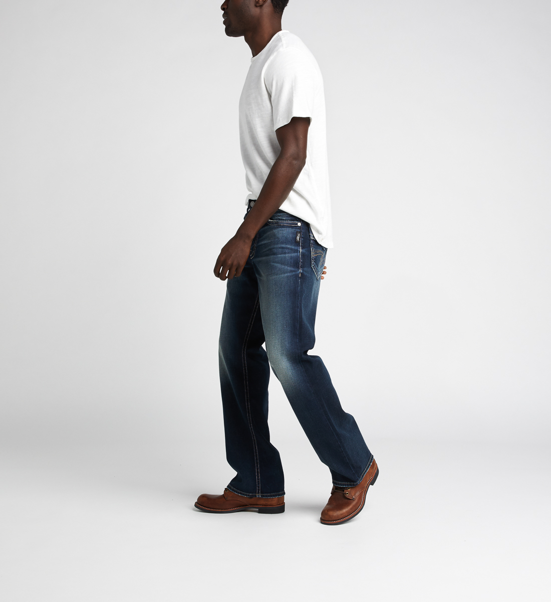 Zac Relaxed Fit Straight Jeans Side