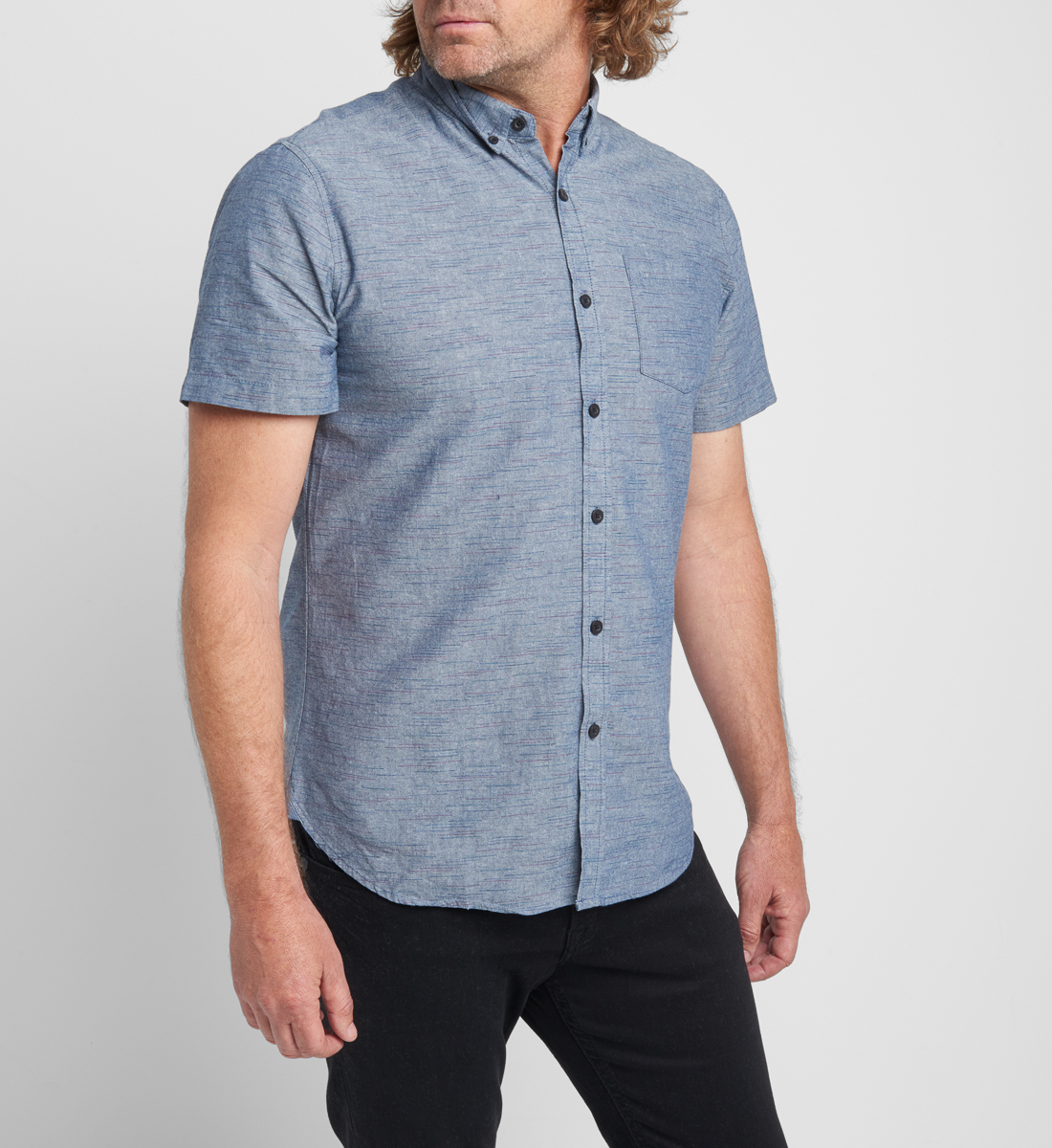 Brett Short-Sleeve Polo Final Sale Front