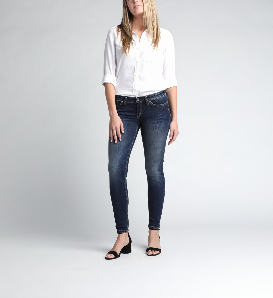 Tuesday Low Rise Skinny Leg Jeans Alt Image 1