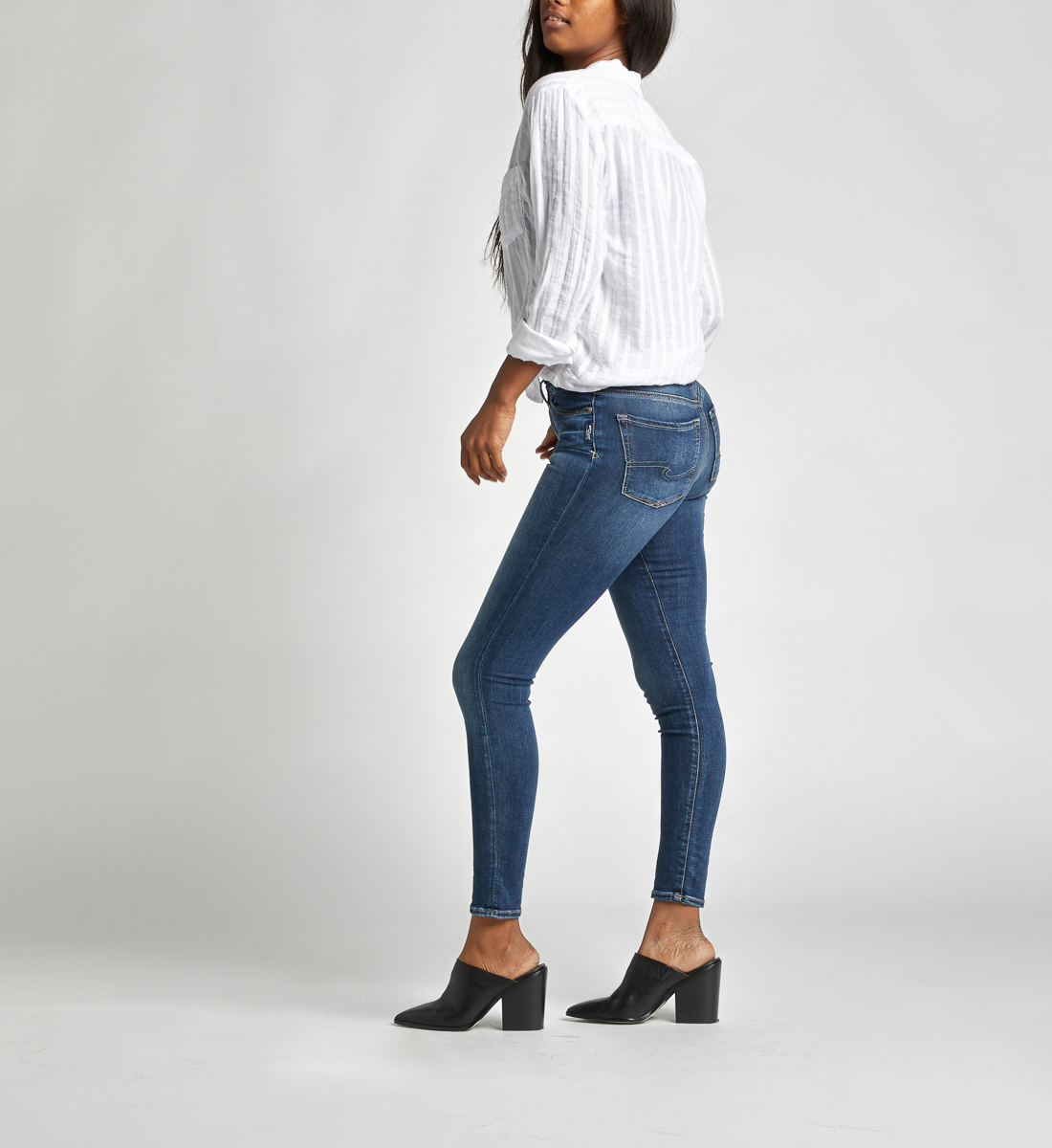 Bleecker Mid Rise Jegging Jeans Side