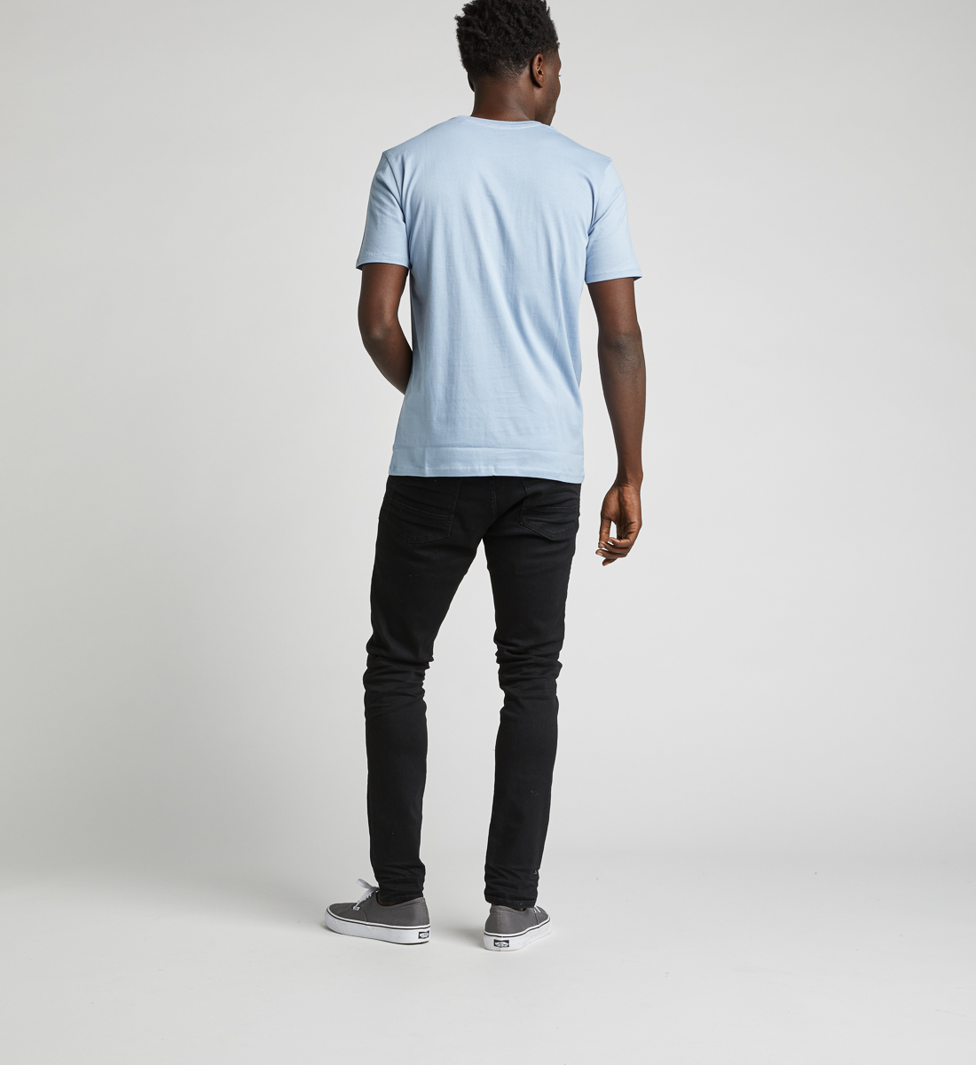 Dalian Graphic Tee,Light Blue Side