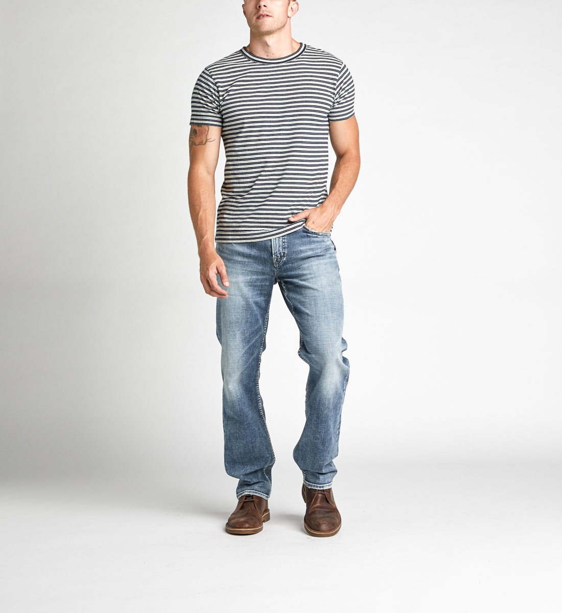 Silver Jeans Grayson Easy Straight Jeans