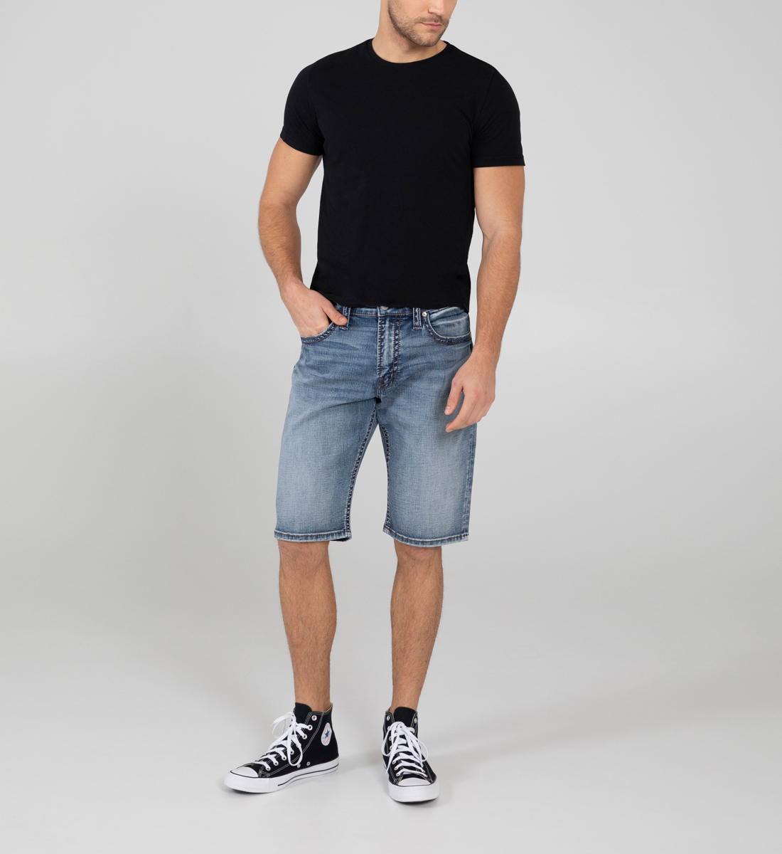 Silver Jeans Gordie Loose Fit Shorts