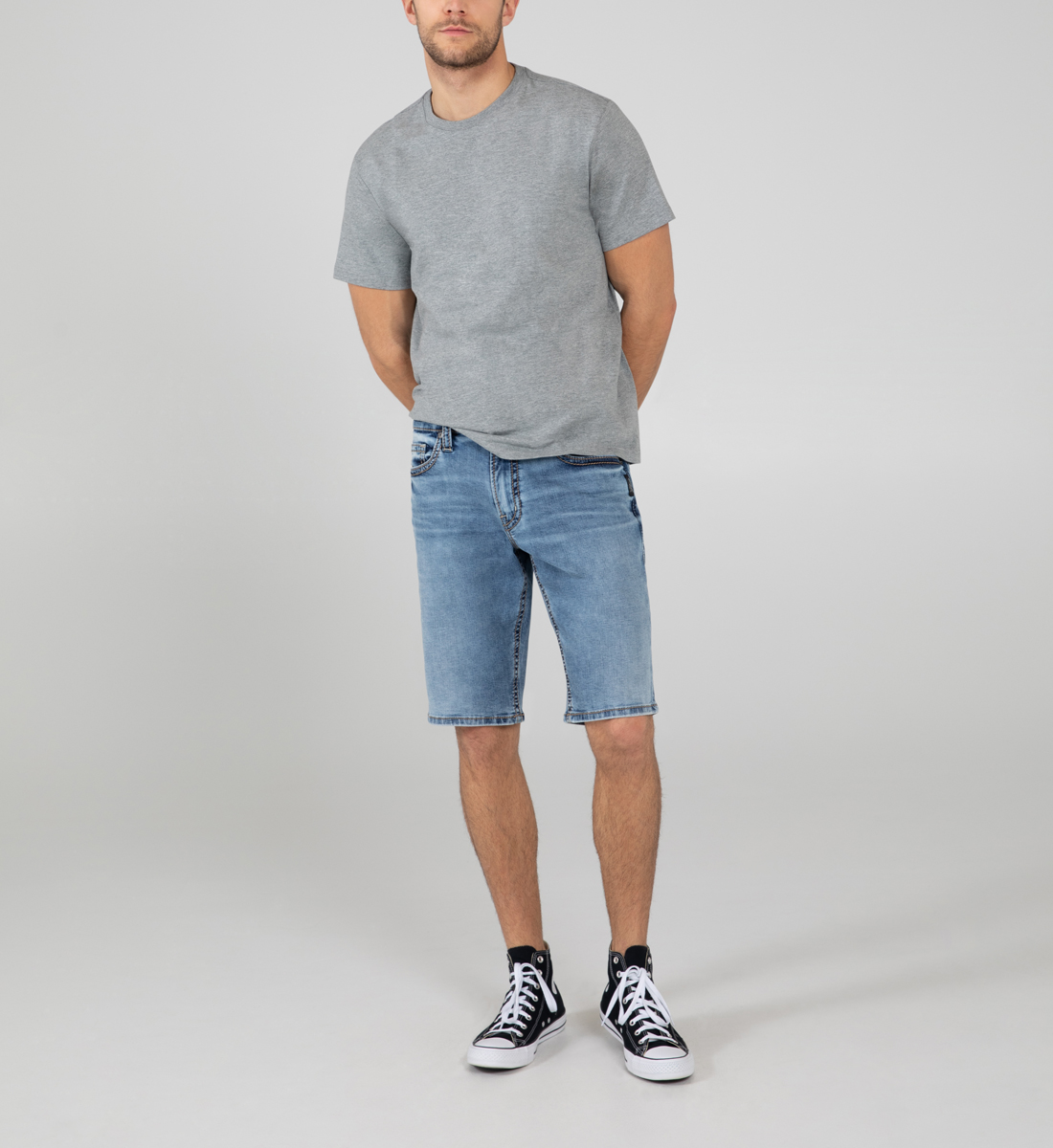 Silver Jeans Zac Relaxed Fit Shorts