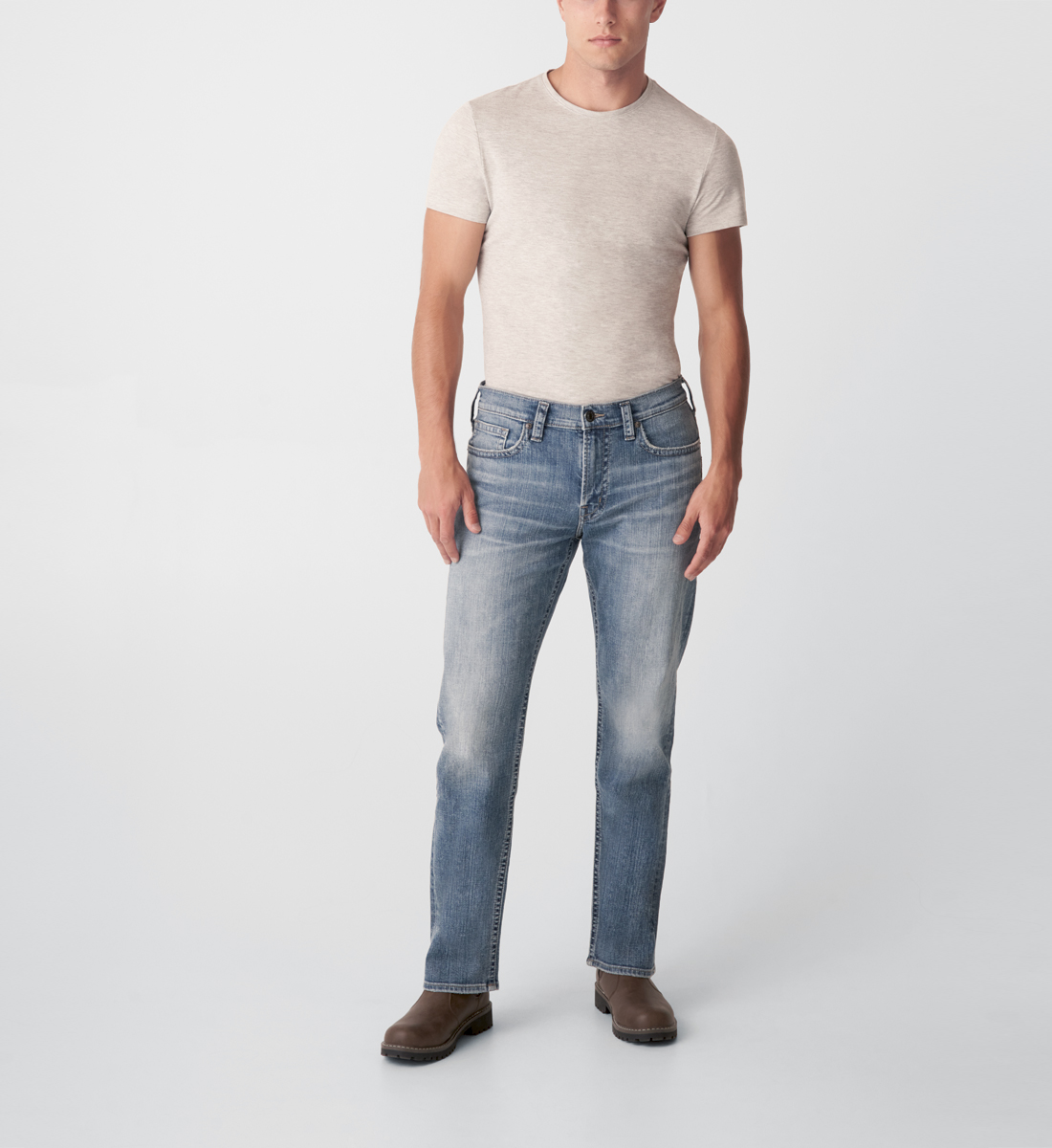 Silver Jeans Craig Easy Fit Bootcut Jeans