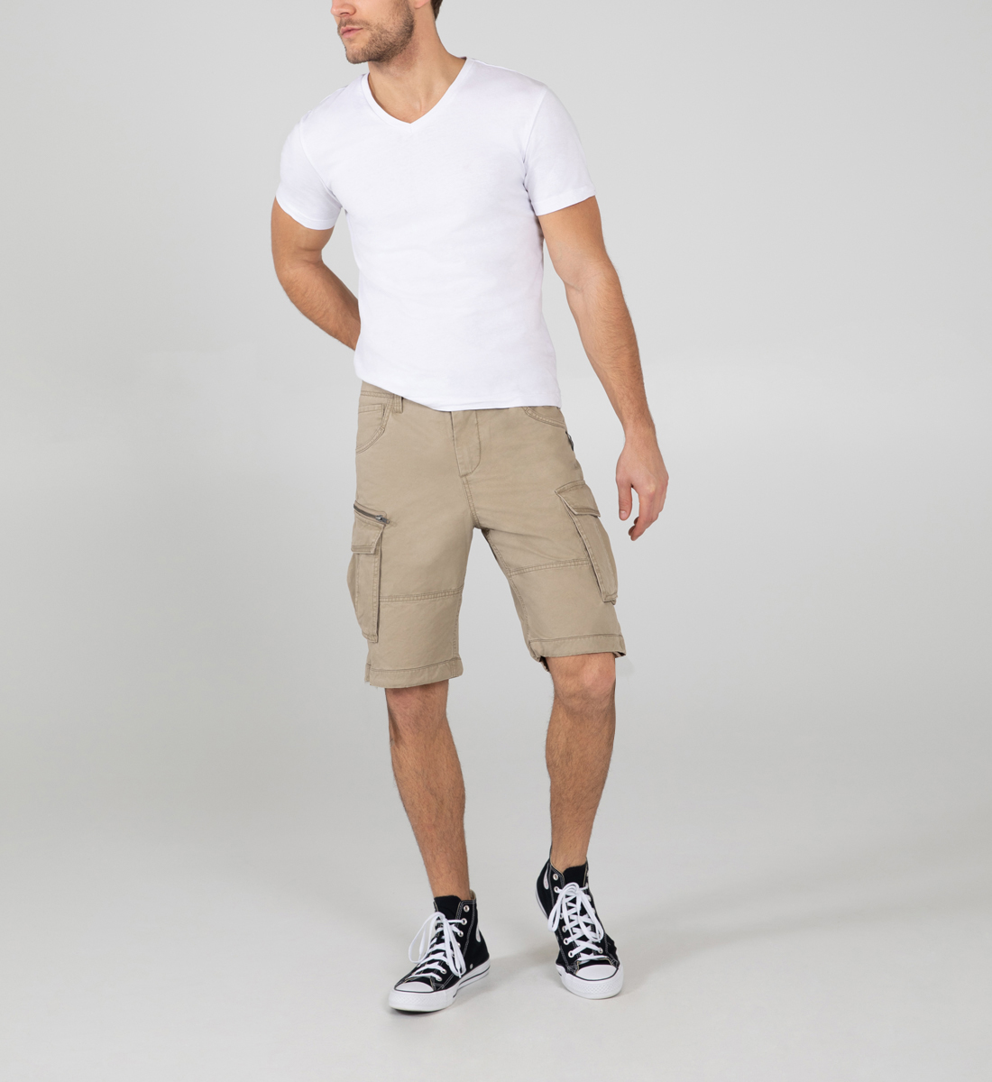 Silver Jeans Twill Cargo Shorts