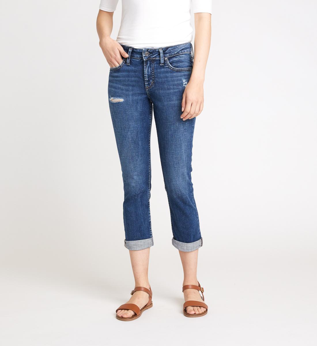 Silver Jeans Elyse Capri