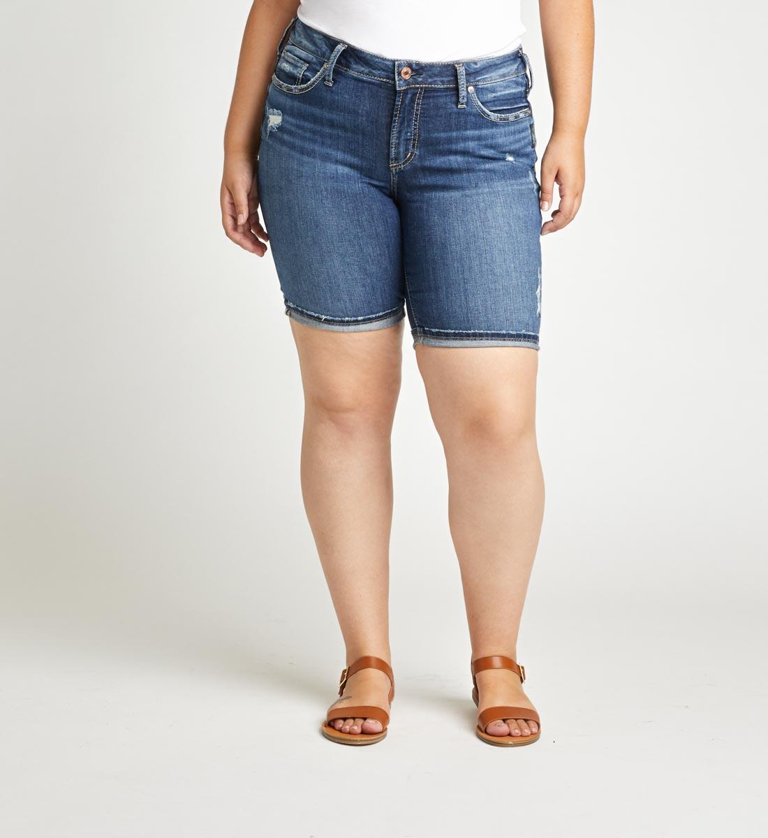 Silver Jeans Suki Bermuda