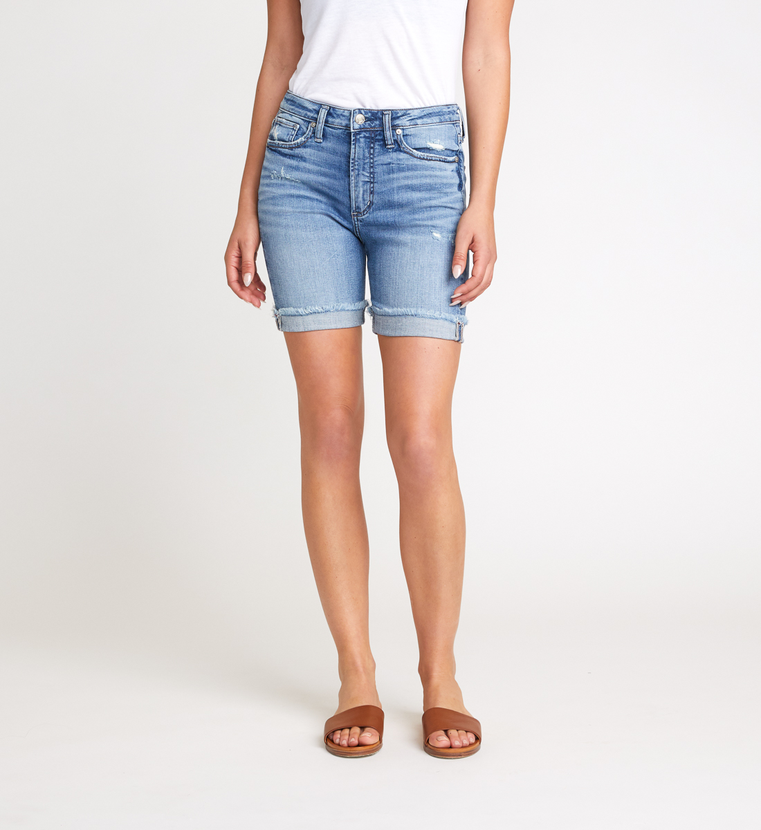 Silver Jeans Sure Thing Long Short