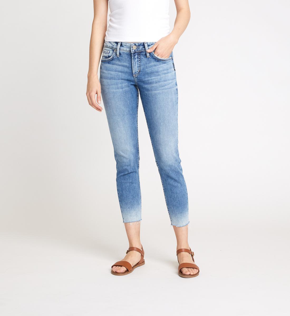 Silver Jeans Elyse Skinny Crop