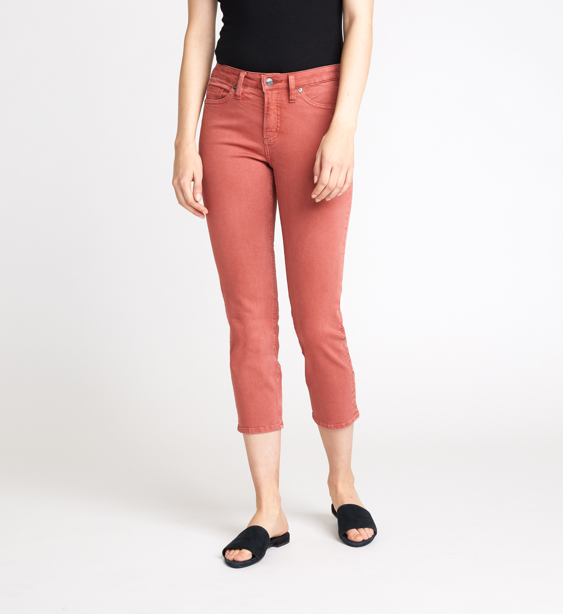 Silver Jeans Most Wanted Slim Crop