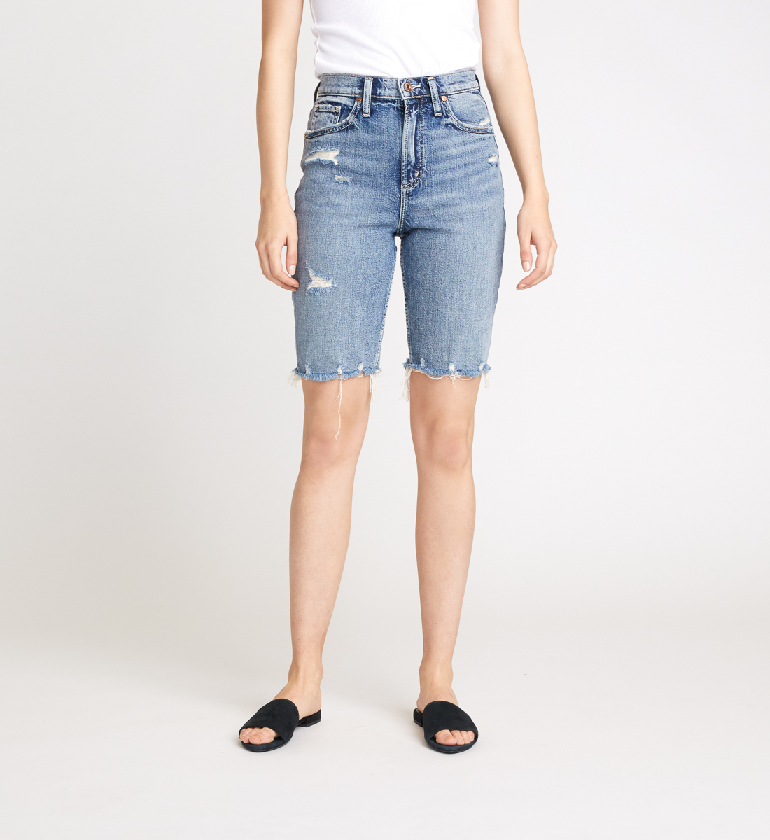 Silver Jeans Frisco Knee Short