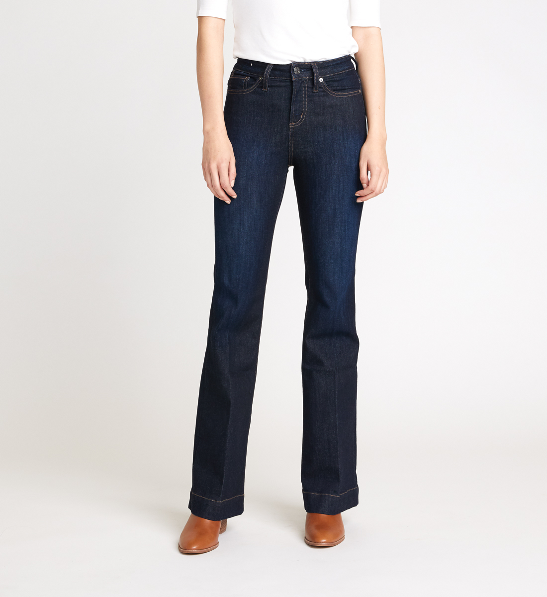 Silver Jeans High Note High-Rise Trouser Jeans