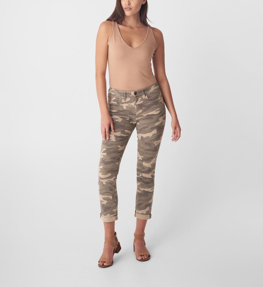 Silver Jeans Beau High Rise Slim Leg Jeans