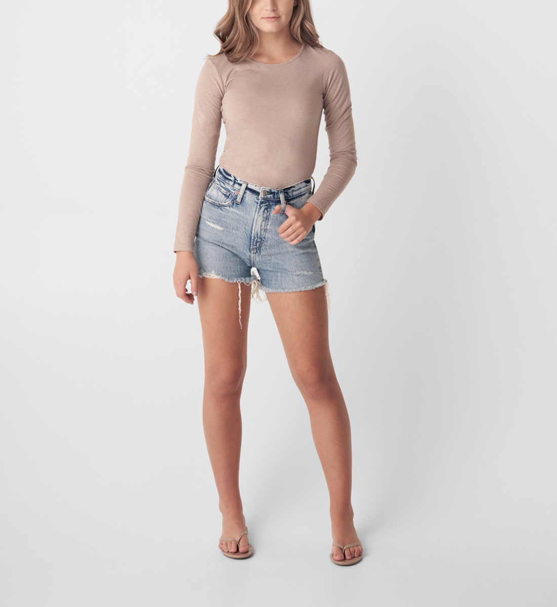 Silver Jeans Highly Desirable High Rise Short