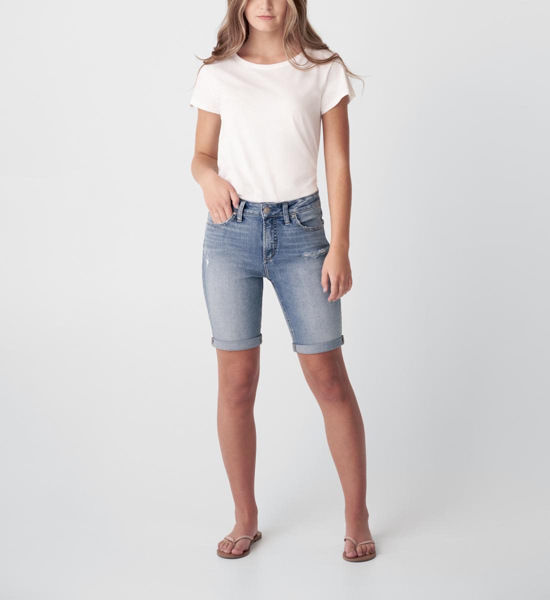 Silver Jeans Avery High Rise Bermuda Short