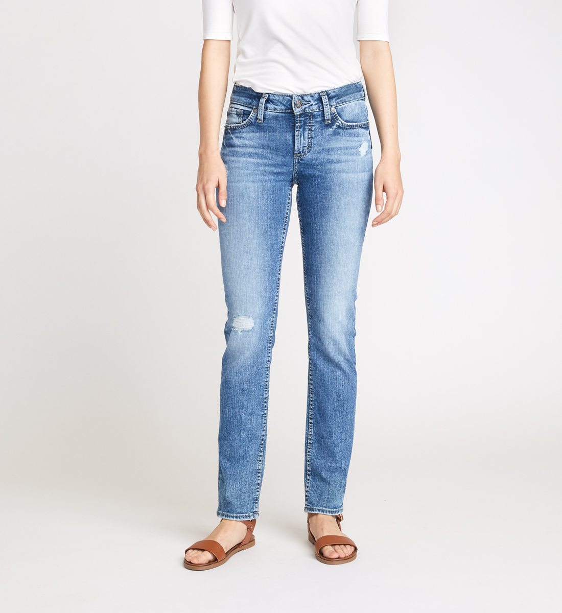Silver Jeans Elyse Straight