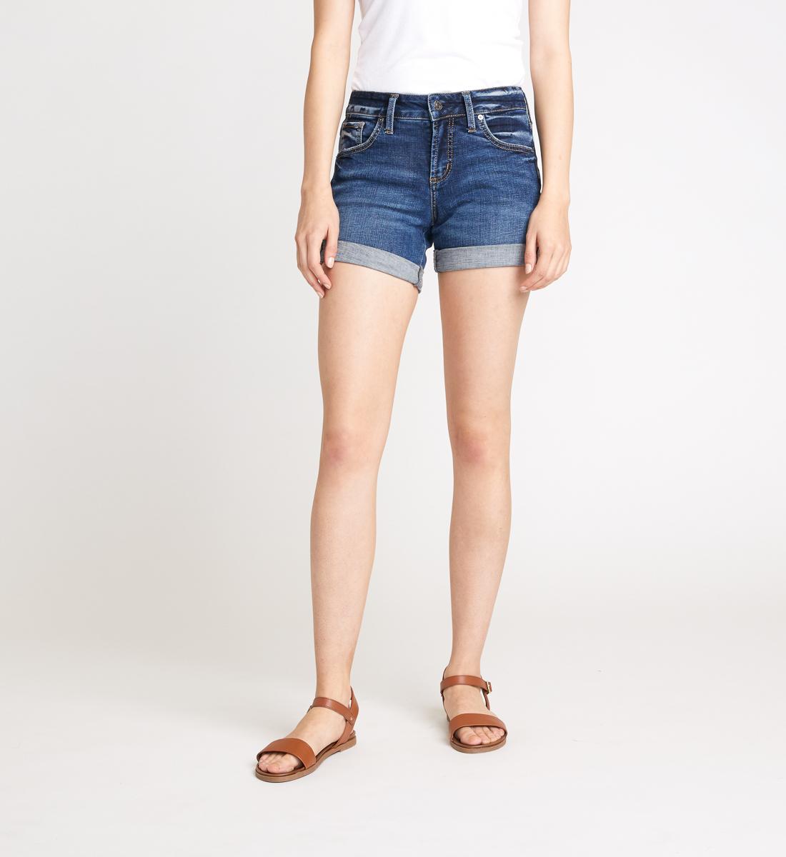 Silver Jeans Boyfriend Short