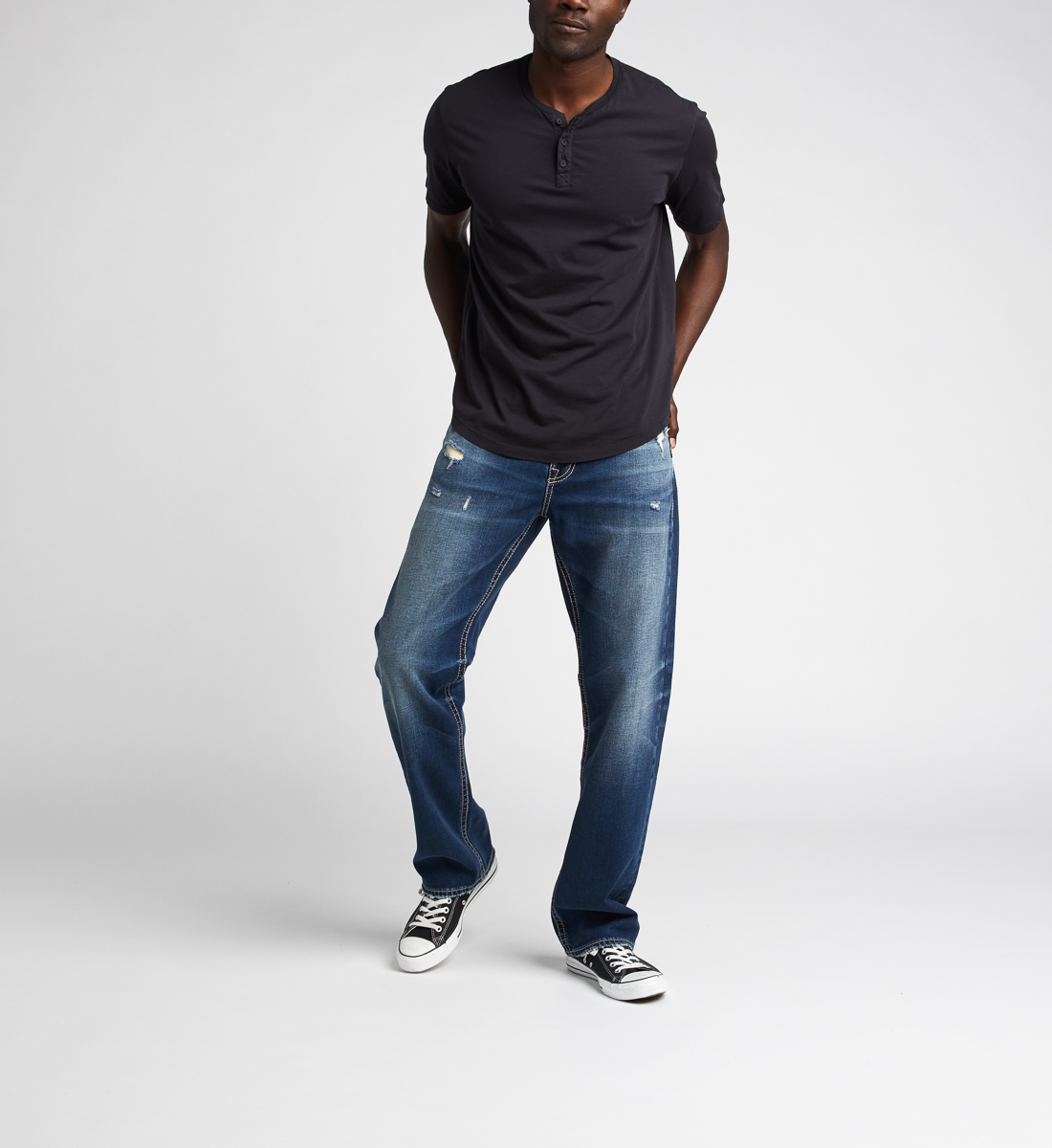 Silver Jeans Grayson Easy Fit Straight Jeans