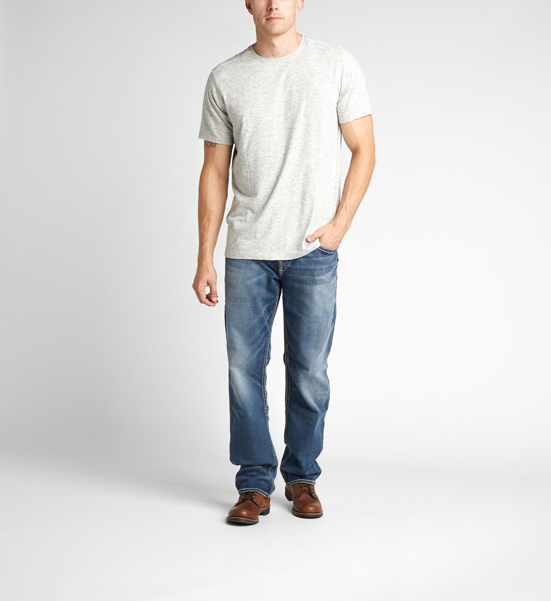 Silver Jeans Eddie Tapered Mens Dark Wash