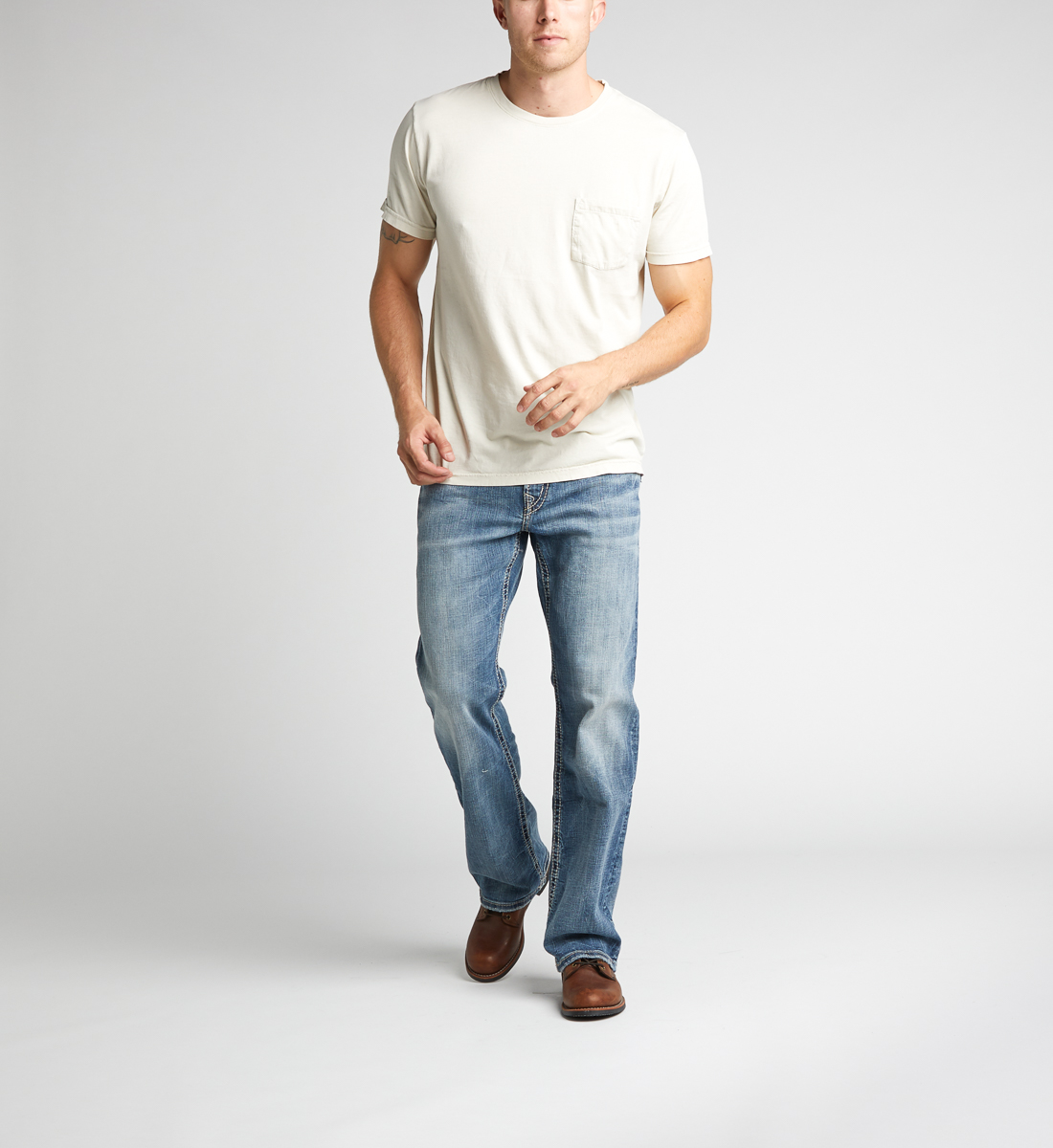 Silver Jeans Craig Bootcut Medium Wash