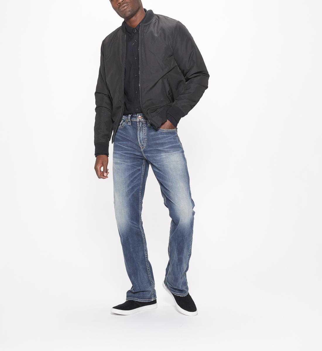 Silver Jeans Craig Bootcut Mens Dark Wash