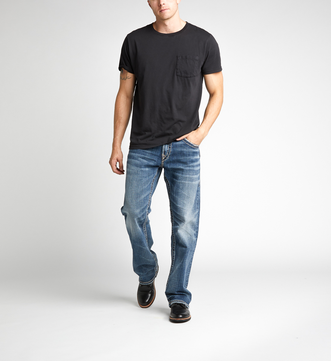 Silver Jeans Zac Light Wash