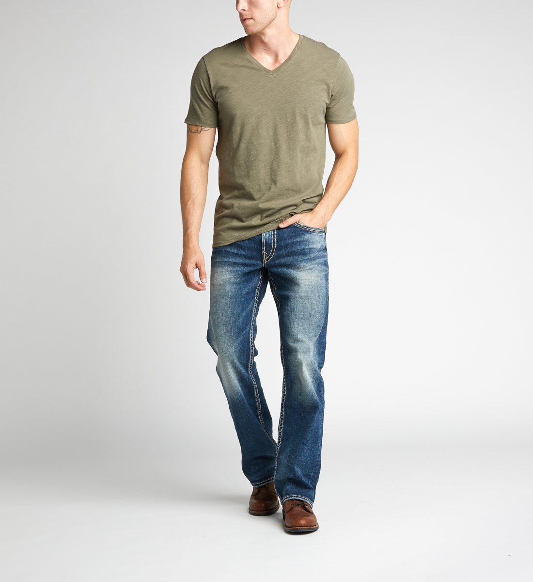 Silver Jeans Zac Dark Wash