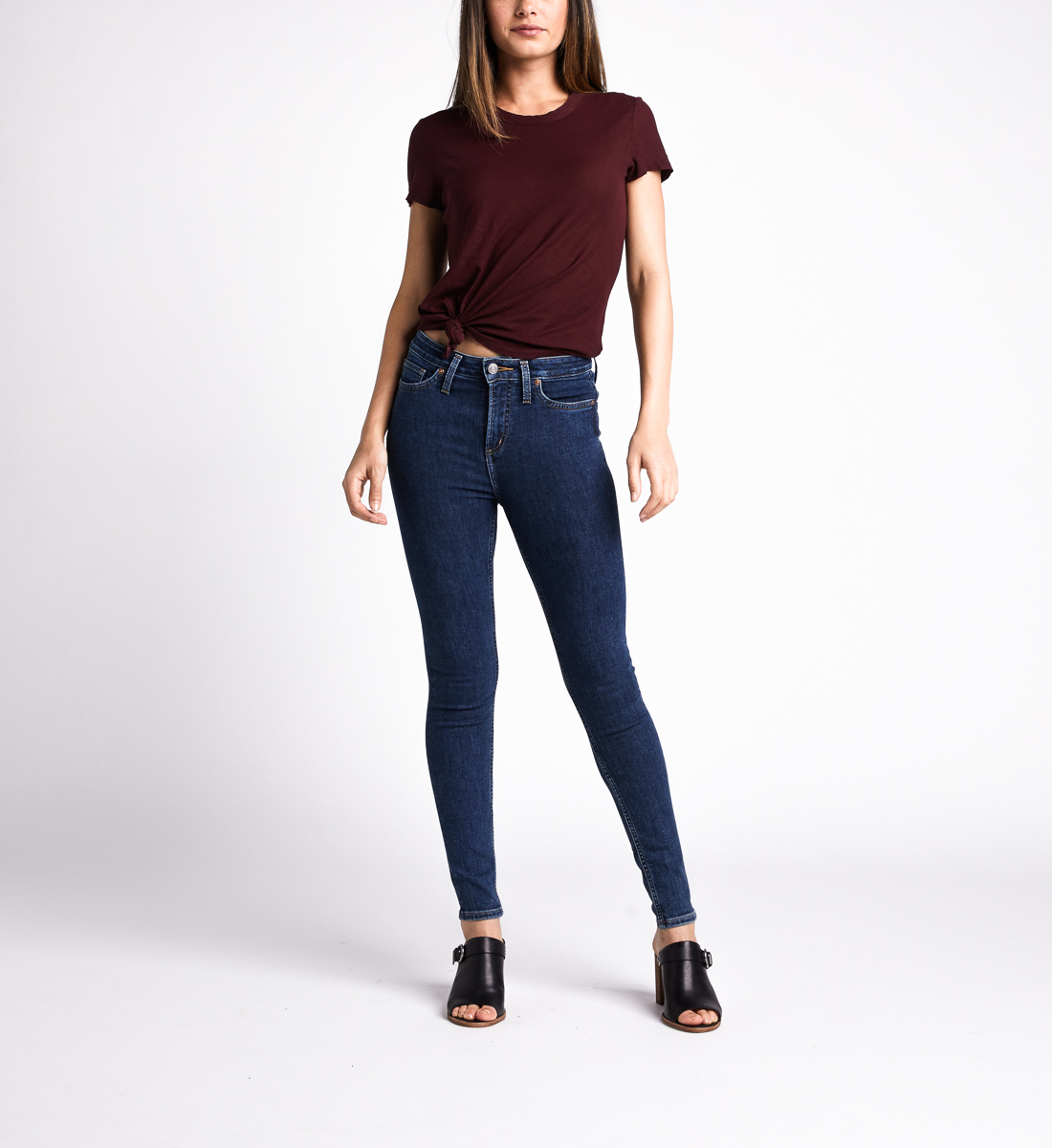 Silver Jeans High Note High Rise Skinny Leg Jeans
