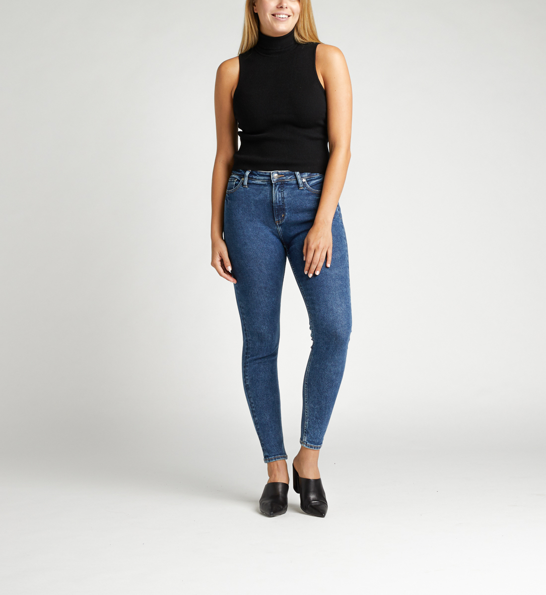 Silver Jeans High Note High Rise Skinny Jeans