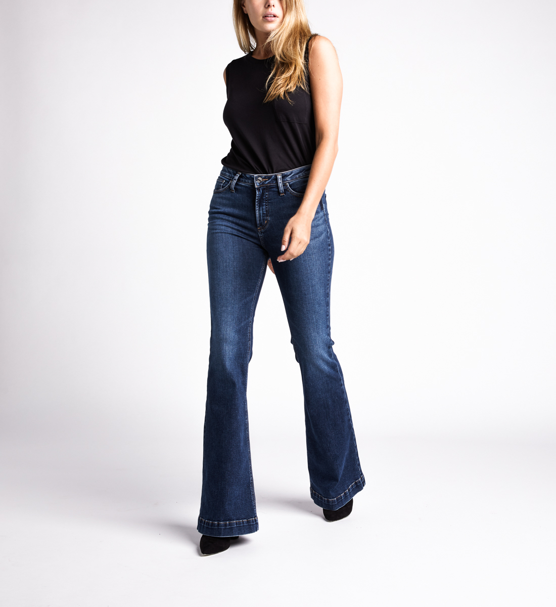 Silver Jeans High Note High Rise Flare Jeans