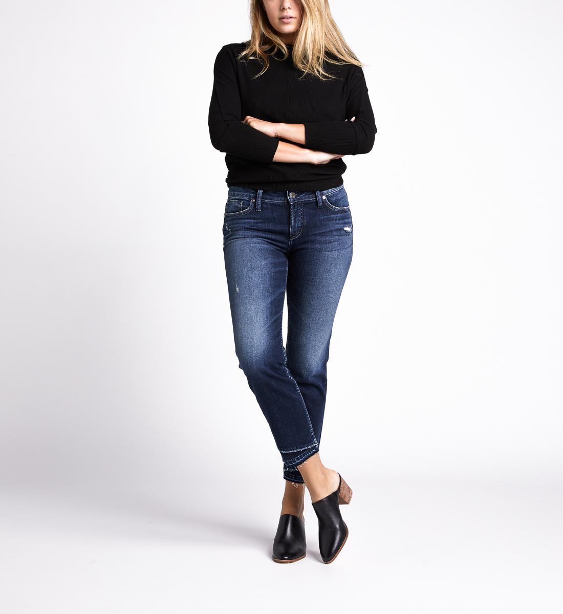 Silver Jeans Suki Mid Rise Slim Leg Jeans