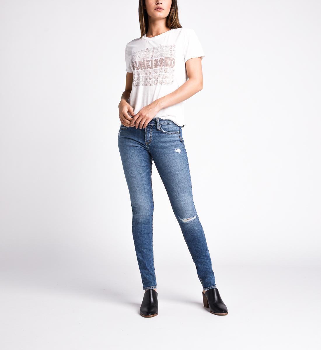 Silver Jeans Avery High Rise Slim Leg Jeans