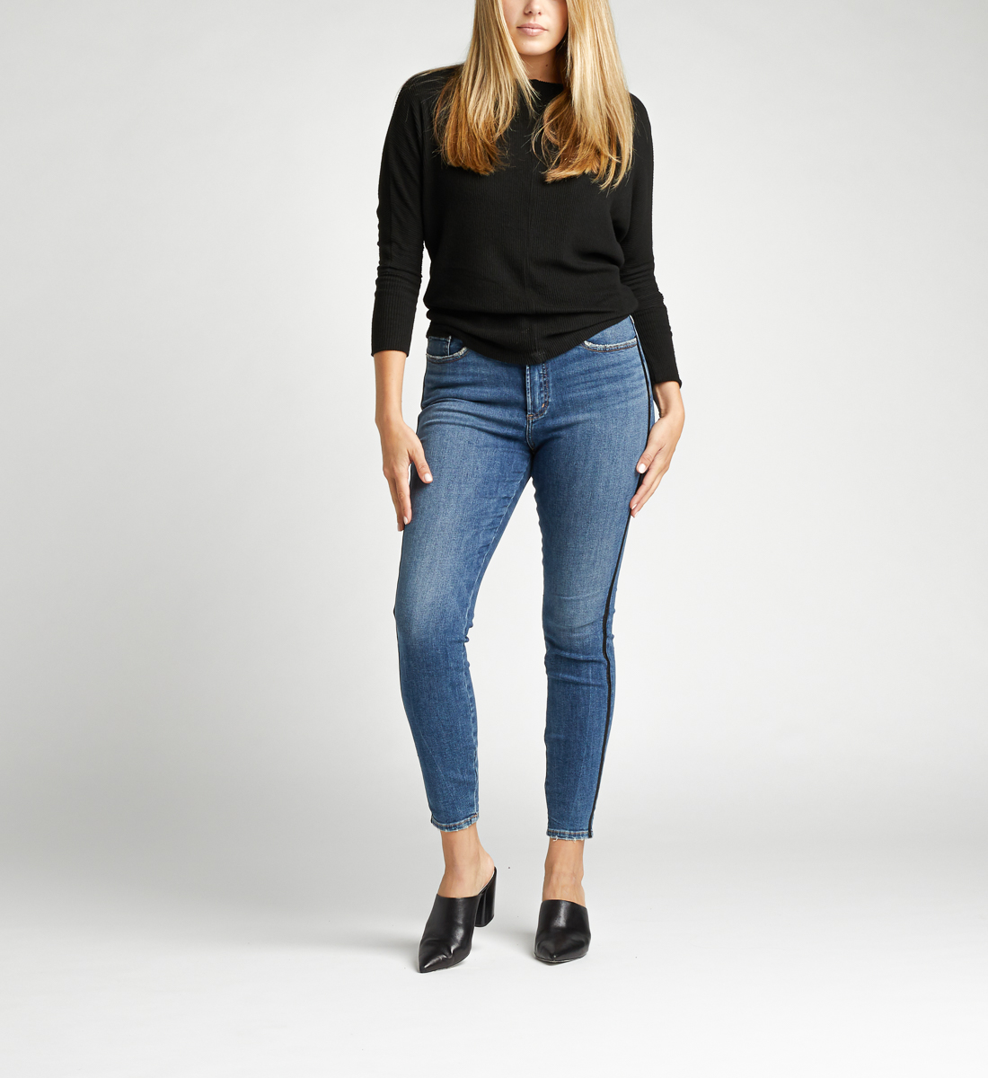 Silver Jeans Calley Super High Rise Skinny Jeans