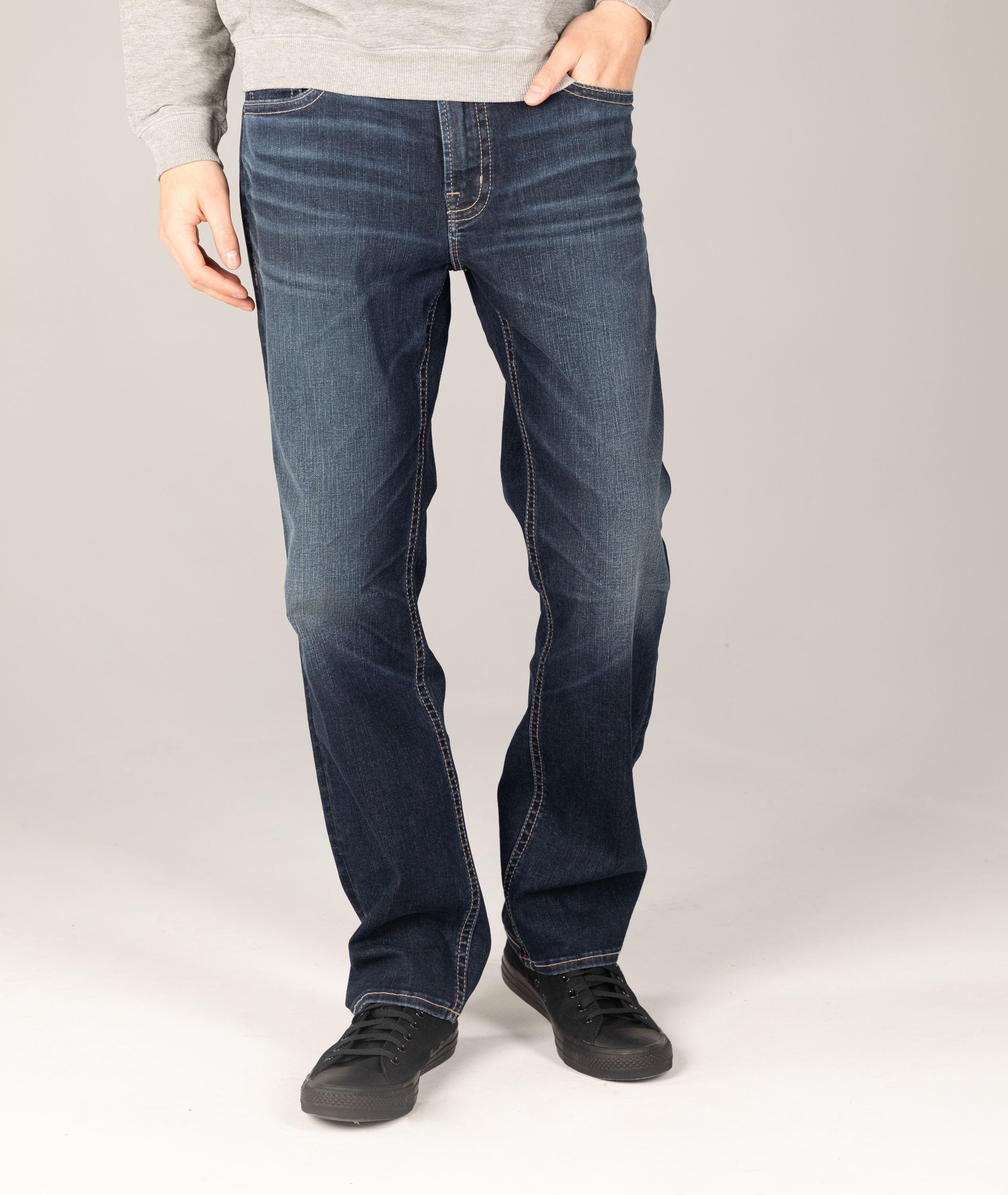 Silver Jeans Grayson Easy Fit Straight Leg Jeans